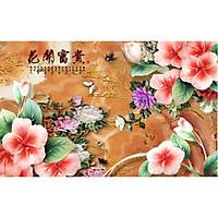 Giấy dán tường - Hoa H389