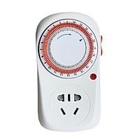 Ổ cắm thông minh hẹn giờ lập trình bật tắt thiết bị điện trong gia đình, giúp tiết kiệm điện Ver2 ( Tặng kèm 03 nút kẹp cao su giữ dây điện cố định )