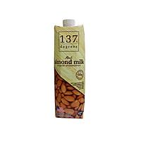 Sữa hạt hạnh nhân 137 Degrees Real almond milk không đường (1l)