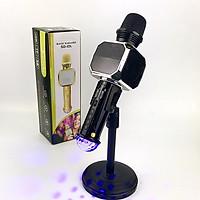 Micro Karaoke Bluetooth Không Dây GUTEK SD10L Tích Hợp Đèn Led Theo Nhạc, Âm Thanh Sống Động, Cắm Thẻ Nhớ, Cổng 3.5 - Hàng chính hãng