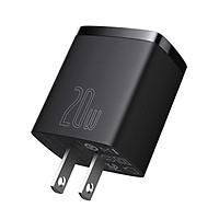 Bộ sạc nhanh nhỏ gọn Baseus Compact Quick Charger U+C 20W - hàng chính hãng