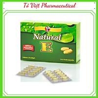 TPCN- Robinson Pharma USA- Natural E - Viên uống bổ sung vitamin E, giúp đẹp da, ngăn ngừa lão hóa, tái tạo da (30 viên)