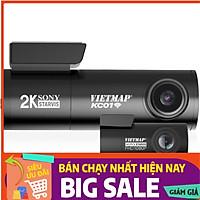 Camera Hành Trình Ô Tô Ghi Hình Trước & Sau Tích Hợp Thẻ Nhớ 32GB VIETMAP KC01 - Hàng Chính Hãng