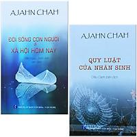 Combo 2 Cuốn Sách Của Thiền Sư Ajahn Brahm: Quy Luật Của Nhân Sinh + Đời Sống Con Người Và Xã Hội Hôm Nay
