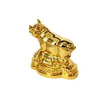 Quà biếu Tết cao cấp: Tượng Heo phong thủy mạ vàng 24K