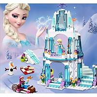 Đồ chơi lắp ráp - Mô hình lắp ghép  chủ đề Nữ hoàng băng giá Elsa