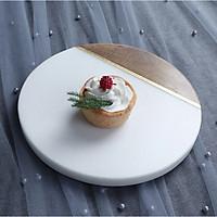 Đĩa đựng thức ăn kiêm thớt nấu ăn nhà bếp độc đáo 3-D-D12-T2978