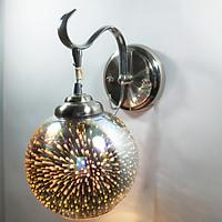 Đèn gắn tường - đèn tường - đèn vách quả cầu lửa 3D trang trí siêu lung linh - đã kèm bóng LED MAI LAMP