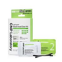 Bộ mặt nạ làm sạch mụn đầu đen 2 trong 1 CNP Laboratory Anti-Pore Black Head Clear Kit (10x5.5ml)