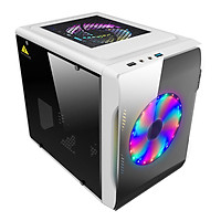Thùng máy tính mini HTPC Beetle 2 white