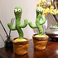 Đồ chơi xương rồng nhảy múa uốn lượn Dancing Cactus phát ra âm thanh vui nhộn biết nhại tiếng