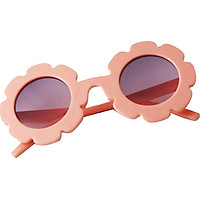 2 Pack Children Anti-UV Sunglasses, Kids Boys Baby Girls Sun Flower Goggle Glasses Eyewear for Party Favors, Birthday Party