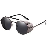 Woman Steampunk Sunglasses Retro Colorful Film Reflective Frog Street Fashion Sunglasses