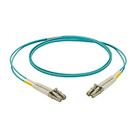 Dây nhảy quang Multi-mode OM3 LC duplex, màu xanh Aqua - Mã NKFPX2ERLLSM - Hàng chính hãng PANDUIT