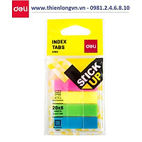 Giấy phân trang 5 màu nhựa Deli EA10202