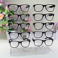 10 Pair Acrylic Sunglasses Glasses Retail Shop Display Unit Stand Holder Case