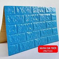 Xốp dán tường 3D giả gạch kt 70 x77cm nhiều màu