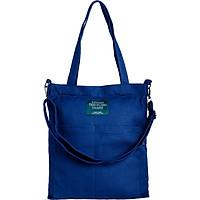 Túi Vải Tote Living Blue XinhStore (31 x 35 cm) - Xanh Đậm