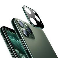 Miếng Dán Cường Lực Có Khung Viền Bảo Vệ Camera cho Iphone 11 Pro – Chống Trầy Xước, Chống Va Đập, Chống Chói, Bảo Vệ Camera Toàn Diện - Hàng Chính Hãng