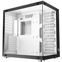 Vỏ Case Máy Tính Xigmatek Aqurius Plus White EN43668 Hỗ Trợ Tản Nhiệt CPU-2 Mặt kính cường lực-Hàng Chính Hãng