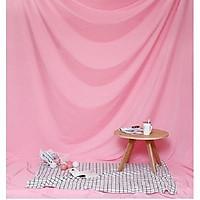 Phông vải đơn sắc hồng 2.9x3m