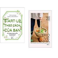 Combo 2 cuốn sách: Start-up theo cách của bạn + Trở về nhà