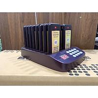 Thiết bị báo rung gọi khách BC1600 dùng cho quán cà phê, thức ăn nhanh - Hàng nhập khẩu