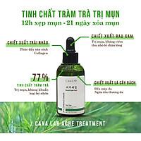 Tinh chất tràm trà làm dịu da, mờ vết thâm và hỗ trợ làm mịn da Cana LAB Tea Tree Good bye RED Acne Treatment Essence