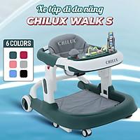 Xe tập đi cho bé Chilux Walk S, có bàn phát nhạc, thiết kế đạt chuẩn Châu âu