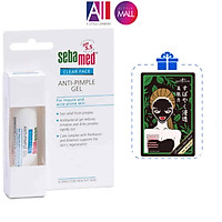 Gel gom cồi, dịu mụn Sebamed ph 5.5 clear face anti-pimple gel 10ml TẶNG mặt nạ Sexylook (Nhập khẩu)