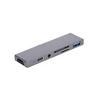 Bộ chuyển đổi đa năng USB 3.0 SD / Micro SD 3.5mm Type-C thay thế cho Ipad