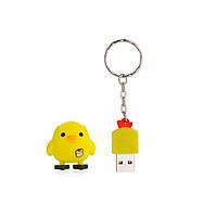 Ổ đĩa flash USB nhỏ di động Phong cách hoạt hình dễ thương Thiết bị lưu trữ USB 2.0 hình con gà