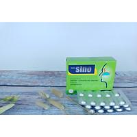 (04 HỘP) Thực phẩm chức năng Viêm mũi dị ứng SINO giúp hỗ trợ hiệu quả giảm tình trạng hắt hơi, ngạt mũi, chảy nước mũi, giảm ho khi thay đổi thời tiết, viên nén bao phim hộp 24 viên