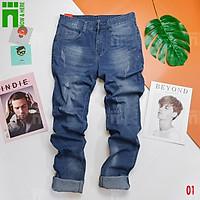 Quần jean nam cao cấp, quần ngố nam đẹp chất - NH Shop