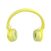 Tai Nghe Chụp Tai Over Ear Y08 Bluetooth 5.0 Màu Vàng - Hàng Chính Hãng