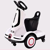 Xe điện tự lái cho bé 2-10 tuổi có nhạc và đèn vui nhộn.