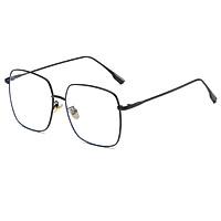 Mắt kính gọng vuông kim loại chống ánh sáng xanh ROBEO G8807