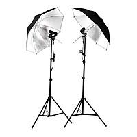 Bộ Đèn Chụp Đôi Dù Phản LED360 40w - Hàng Chính Hãng