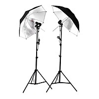 Bộ Đèn Chụp Đôi Dù Phản LED360 60w - Hàng Chính Hãng