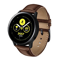Dây Da Leather Trơn Dành Cho Galaxy Watch Active 2, Galaxy Watch Active 1, Galaxy Watch 42 (Size 20mm)