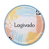 Phấn nước che khuyết điểm Hàn Quốc chính hãng Lagivado kiềm dầu, mỏng Mịn, che phủ tốt, lâu trôi Just Perfection Cushion Foundation – Tone trắng sáng