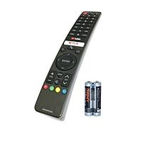 Remote Điều Khiển Giọng Nói Dành Cho SHARP Smart TV, Android Tivi GB346WJSA