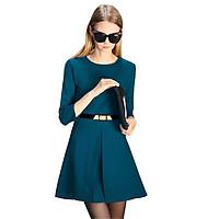 Sale: Đầm xòe công sở tay dài - Size M