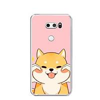 Ốp lưng dẻo cho điện thoại LG V30 - 0347 LOVELY04 - Hàng Chính Hãng