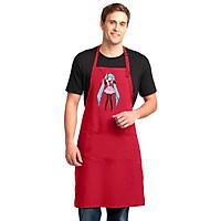 Tạp Dề Làm Bếp In Hình Anime Cô Gái Dễ Thương - Mẫu006