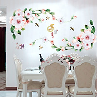 Decal dán tường hoa hồng 3D SK9289 ZooYoo