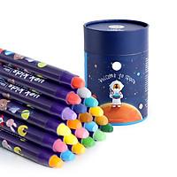 Bút sáp màu cao cấp 24 màu