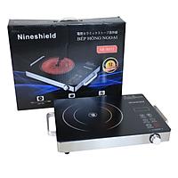 Bếp hồng ngoại bếp điện quang cảm ứng 2 vòng nhiệt 2200W tiết kiệm điện
