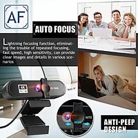 Camera cho máy tính tự động lấy nét thích hợp cho văn phòng 1080P Full HD Web Cam 2K 4K