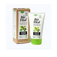 Gel Rửa Mặt Hữu Cơ Nhập Khẩu Dịu Nhẹ Deba Bio Vital Sạch Nhờn, Ngừa Mụn, Se Khít Lỗ Chân Lông